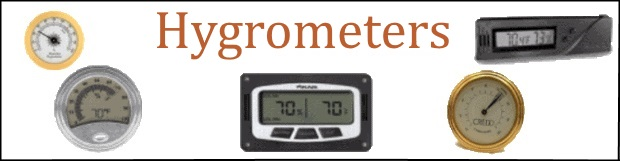 Hygrometers - Home Page